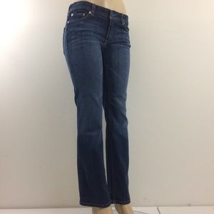 Calvin Klein Jeans 8 Bootcut Stretch Blue Denim
